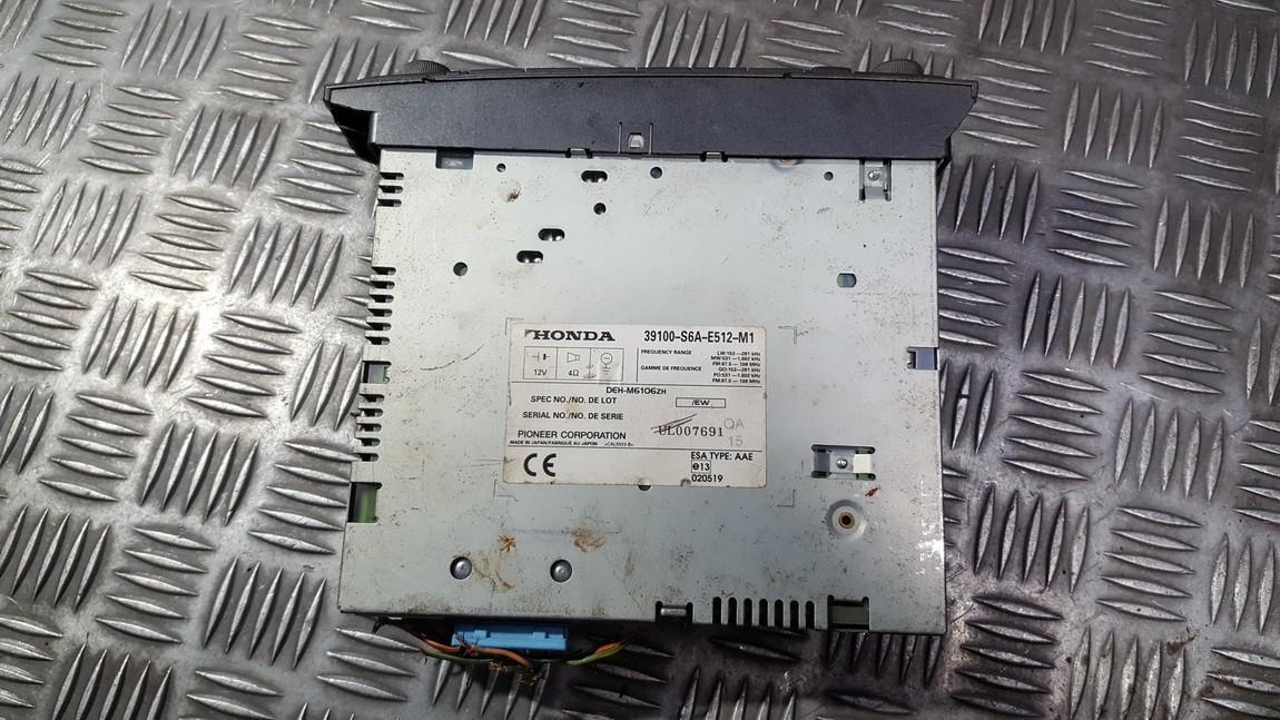 Авторадио Honda Civic 2003    0.0 39100S6AE512M1