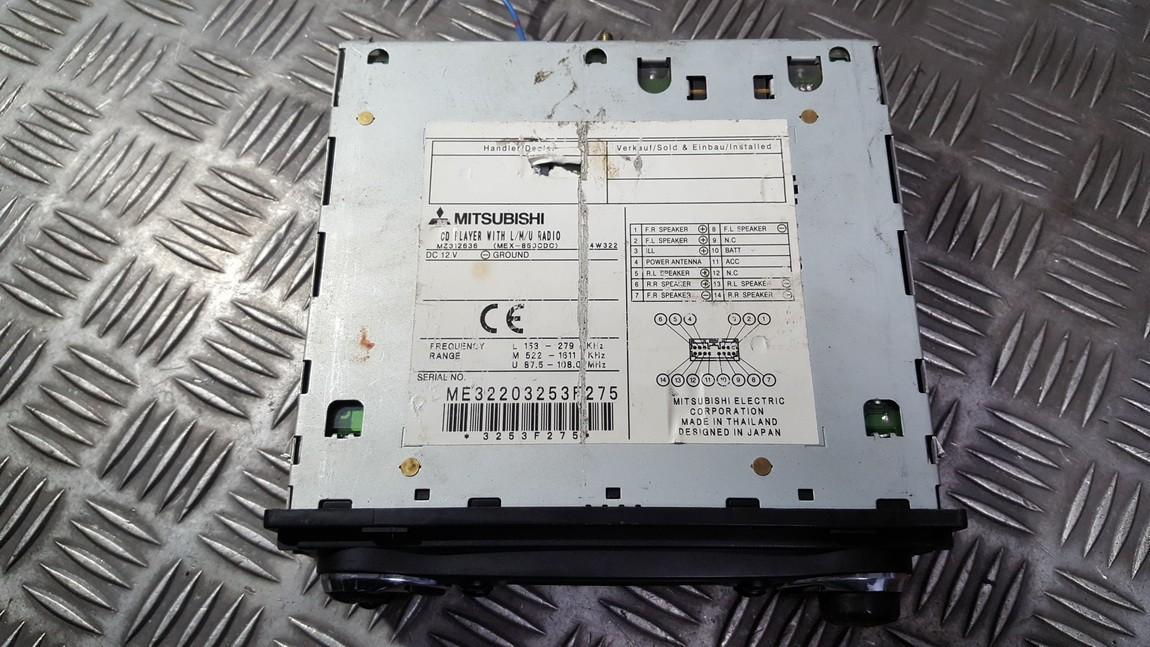 Авторадио Mitsubishi Outlander 2004    0.0 MZ312636