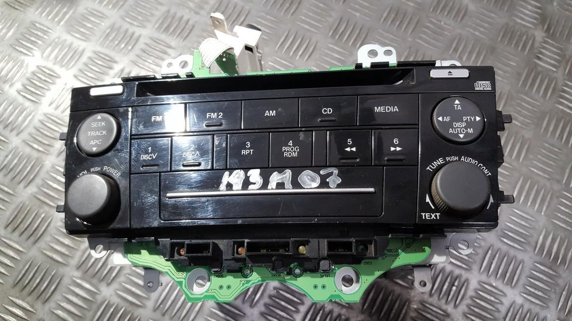 Авторадио Mazda 6 2007    0.0 GR4B66DSX
