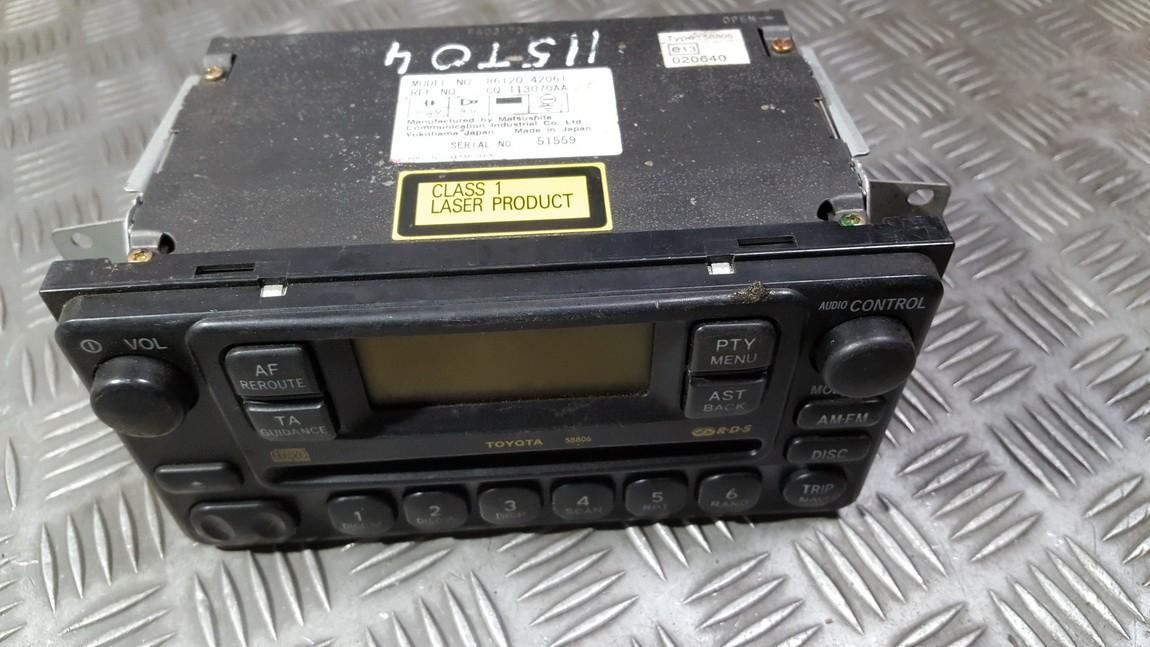 Авторадио Toyota RAV-4 2001    0.0 8612042061