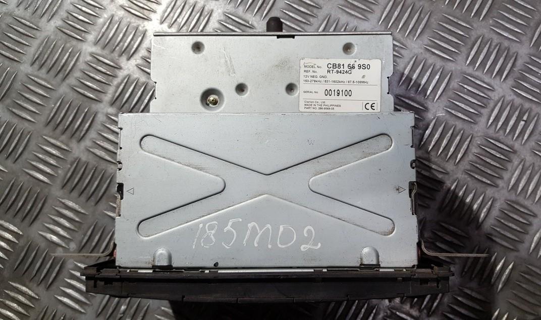 Авторадио Mazda Premacy 2002    0.0 CB81669S0
