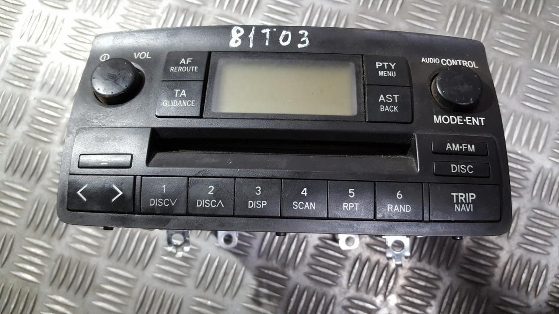Авторадио Toyota Corolla 2002    0.0 8612002260