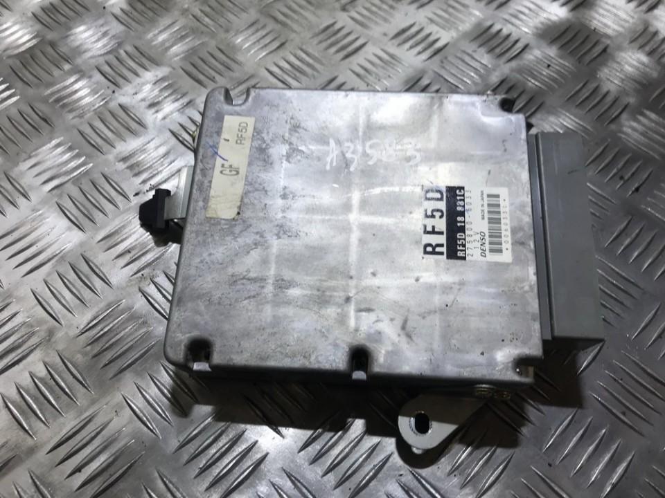 Variklio kompiuteris RF5D18881C RF5D, 275800-6033 Mazda 6 2003 2.0
