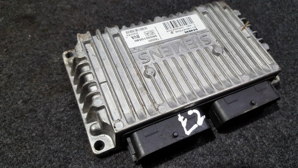 Transmission Computer Gearbox ECU Citroen C8 2005    2.0 9650010580