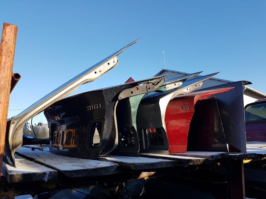 Galinis dangtis G (kapotas) SIDABRINIS USED BMW 5-SERIES 1997 2.5