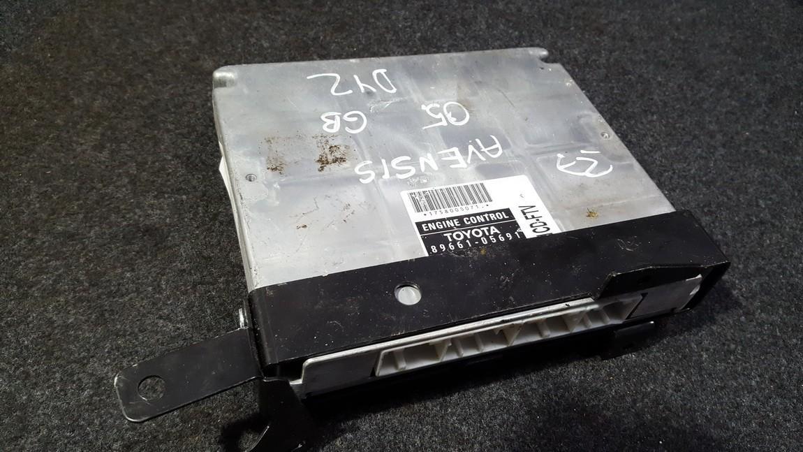 Блок управления двигателем Toyota Avensis 2005    2.0 8966105691