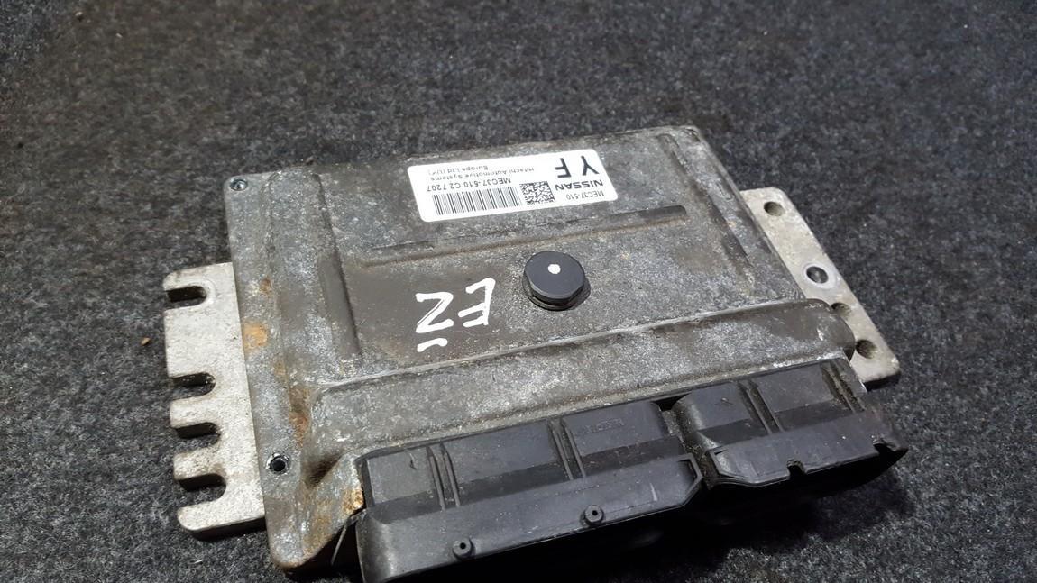 Блок управления двигателем Nissan Note 2008    1.4 MEC37510