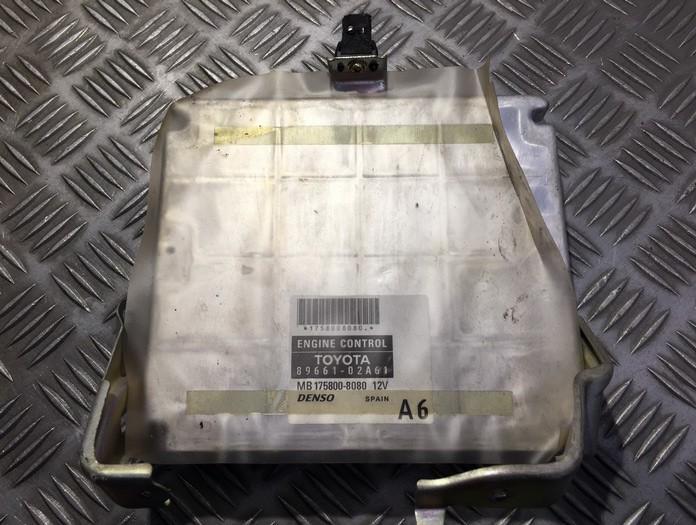Блок управления двигателем Toyota Corolla 2005    2.0 8966102A61