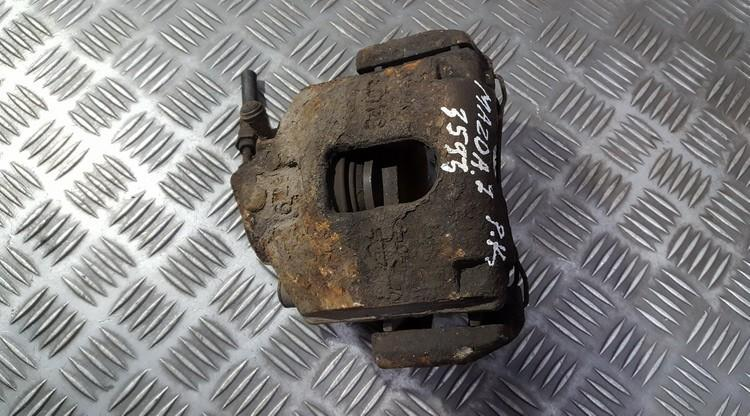 Disc-Brake Caliper front left side used used Mazda 2 2003 1.4