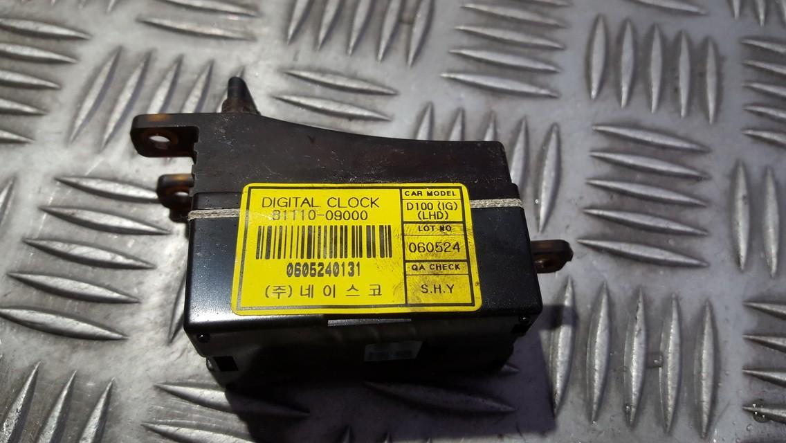 Dashboard Radio Display (Clock,Info Monitor,BORD COMPUTER) SsangYong Kyron 2009    0.0 8111009000