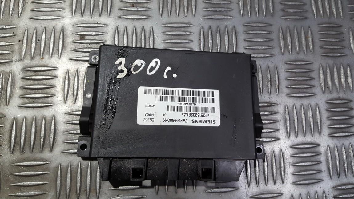 Transmission Computer Gearbox ECU Chrysler 300C 2009    3.0 P05150338AA