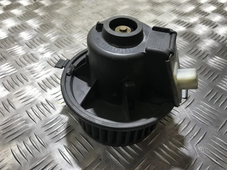 Вентилятор салона Volkswagen Jetta 1986    1.6 191819021