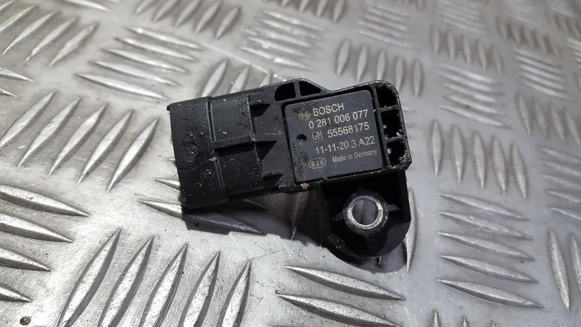 Air Pressure MAP Sensor Manifold Boost Opel Astra 2012    1.4 0281006077