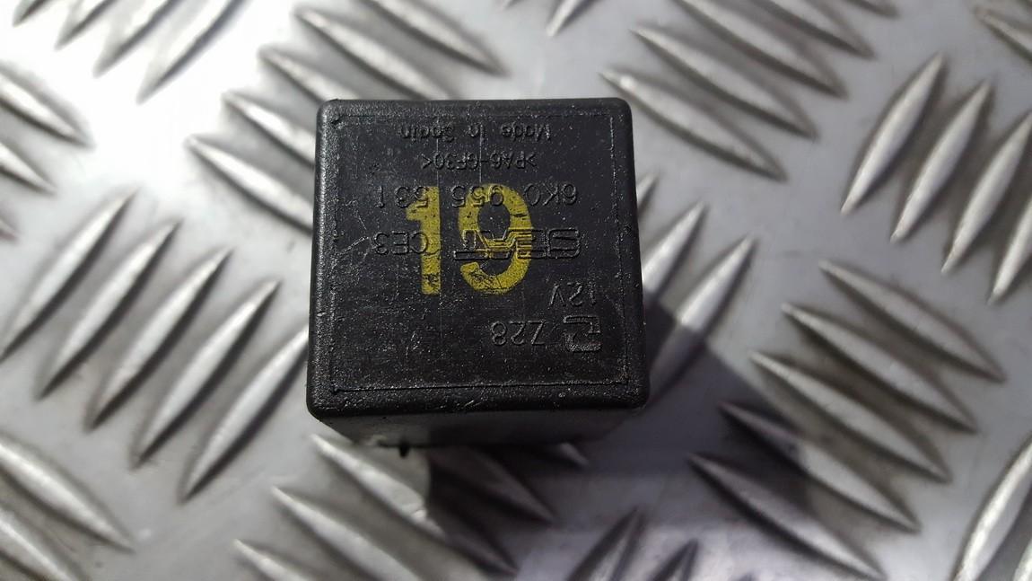 191937503 V23134 J52 X228 Relay Module Seat Ibiza 2002 1 2l 6eur