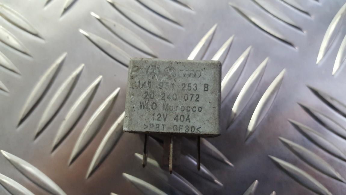 Relay module 141951253b 20240072 Volkswagen GOLF 2006 1.6