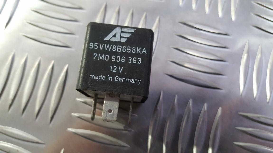 Блок электронный 95vw8b658ka 7m0906363, 898813000 Volkswagen SHARAN 2003 1.9