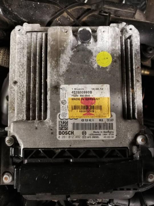 Блок управления двигателем Audi A8 2004    3.0 0281012492
