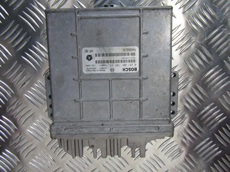 Variklio kompiuteris 0281001708 p04686661ac Chrysler VOYAGER 2001 2.5