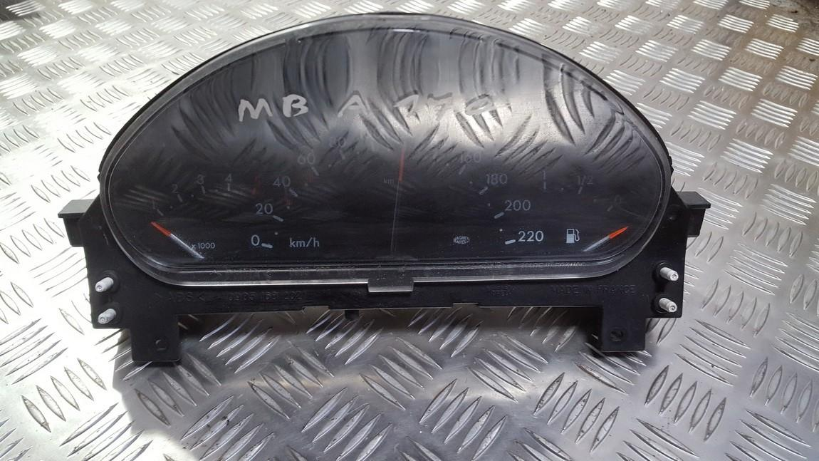 Spidometras - prietaisu skydelis a1685403911 09051639901 9902160300 Mercedes-Benz A-CLASS 2001 1.4