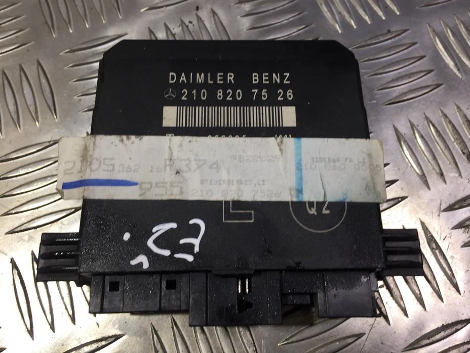 Duru valdymo blokelis 2108207526 2108600505 Mercedes-Benz E-CLASS 1999 2.7