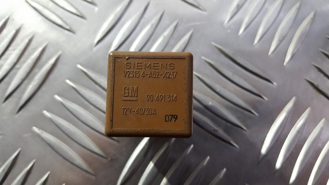 Rele 90491314 V23134-A52-X237, V23134A52X237 SAAB 9-3 2005 2.2