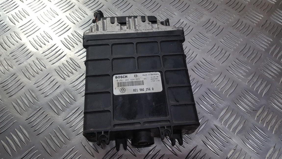 Variklio kompiuteris 021906256q 0261203664 Ford GALAXY 1996 2.0