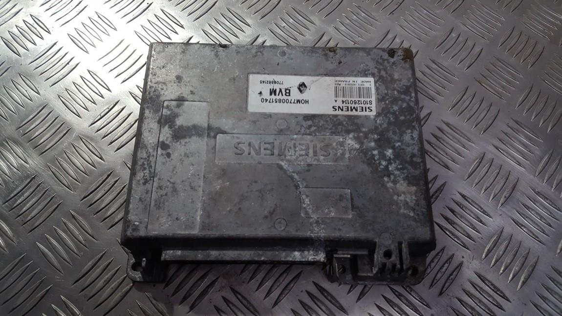 Variklio kompiuteris HOM7700851740 7700862145 S101260114 Renault ESPACE 1998 2.9