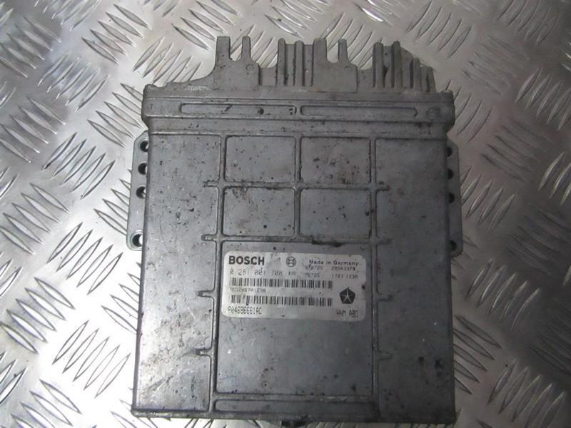 Variklio kompiuteris 0281001708 P04686661ACE Chrysler VOYAGER 2001 2.5