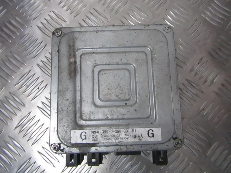 Vairo stiprintuvo kompiuteris 39980SWWG01M1 39980-SWW-G01-M1, EACCEC0131, EPS03-130, GBAA Honda CR-V 2003 2.0