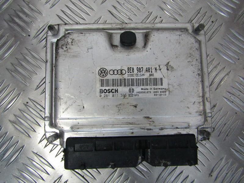 Variklio kompiuteris 8E0907401N 0281011386 Audi A6 1996 2.6