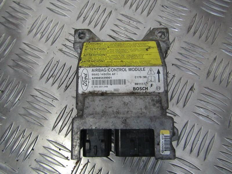 Airbag crash sensors module 98AG14B056AF 0285001248 Ford FOCUS 2015 1.5