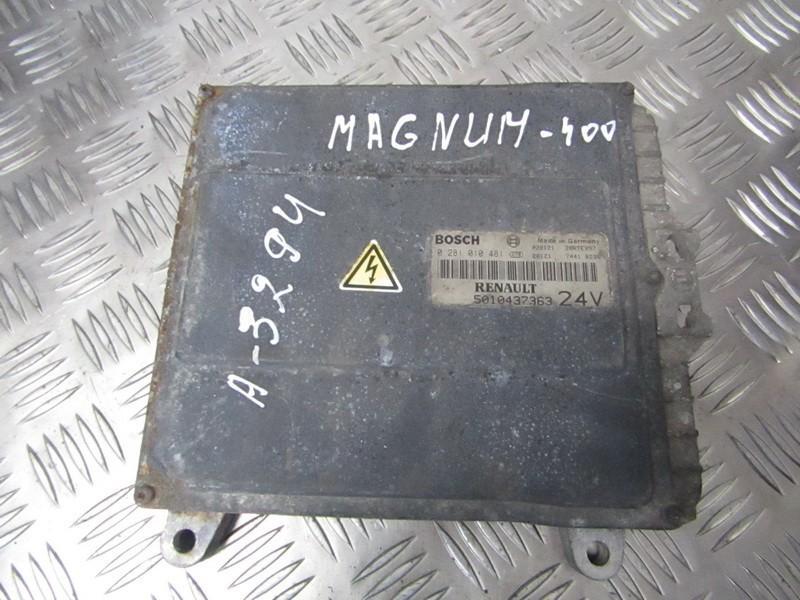 Блок управления двигателем 0281010481 5010437363 Truck - Renault MAGNUM 2001 12.0