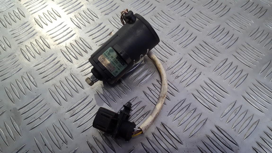Elektrinis greicio pedalas 0281002286 863312624, 028907475aj Volkswagen PASSAT 1997 1.8