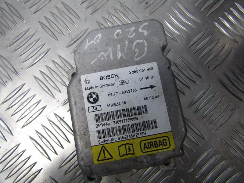 SRS AIRBAG KOMPIUTERIS - ORO PAGALVIU VALDYMO BLOKAS 65776912755 65.77-6912755, 0285001458 BMW X5 2004 3.0