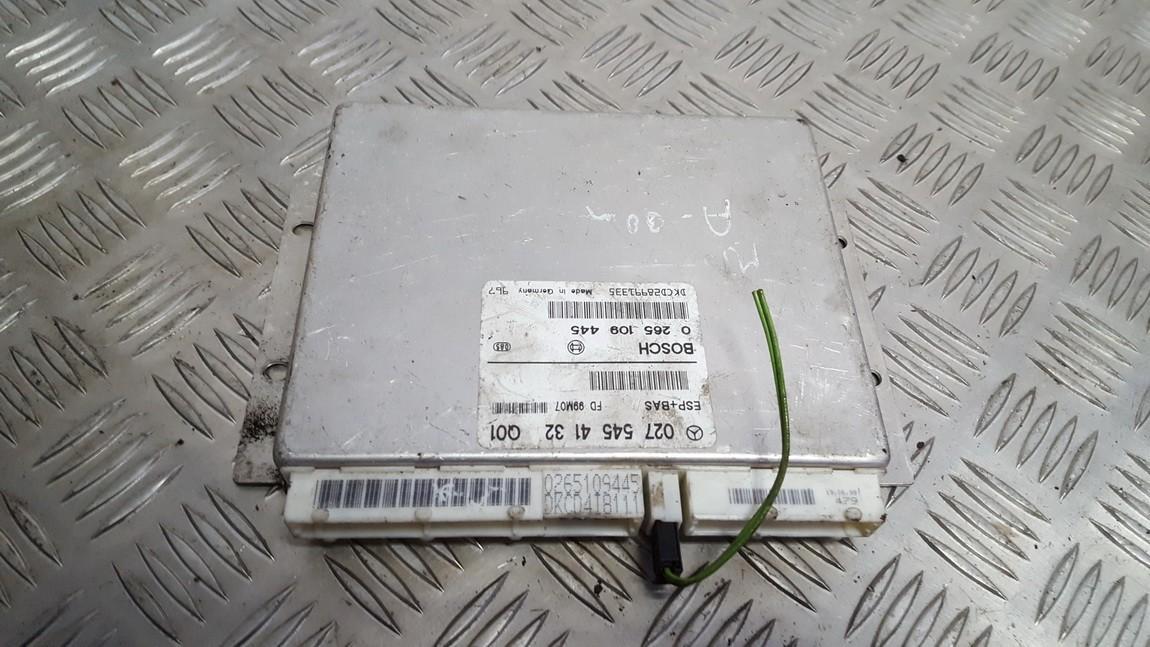 ESP kompiuteris 0275454132 0265109445 Mercedes-Benz A-CLASS 1998 1.7