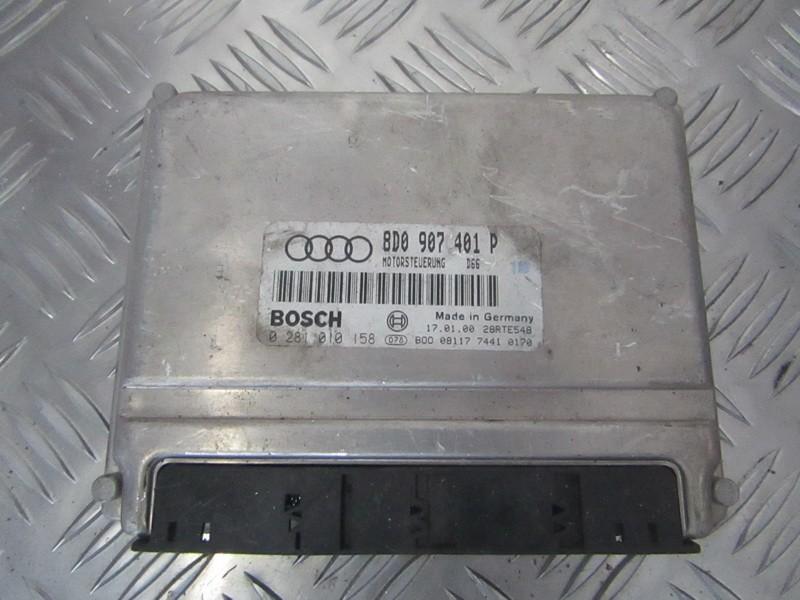 Variklio kompiuteris 8d0907401p 0281010158 Audi A4 2001 1.9