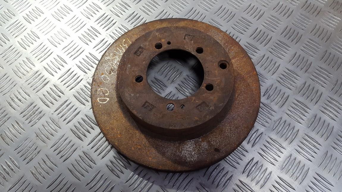 Brake Disc - Rear used used Mitsubishi SPACE WAGON 2000 2.4