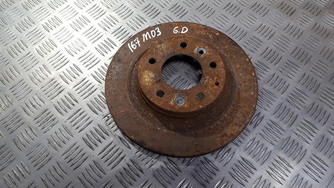 Brake Disc - Rear used used Mazda 6 2002 2.0