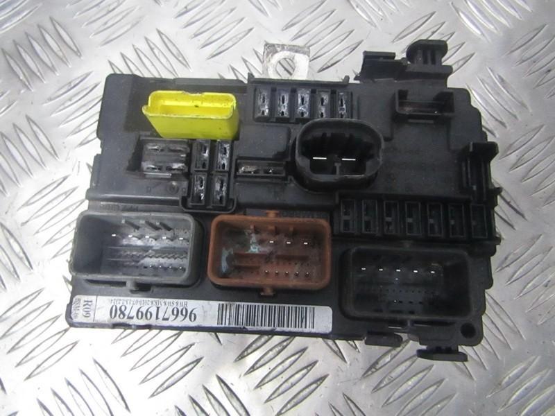 Komforto blokas 9667199780 used Peugeot 207 2008 1.4