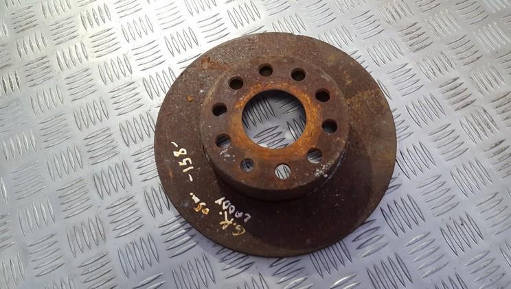 Galinis stabdziu diskas used used Volkswagen CADDY 1998 1.9