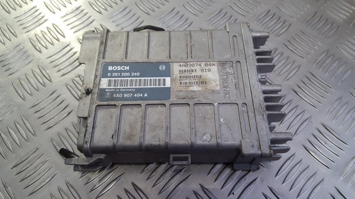 Variklio kompiuteris 4A0907404A 0261200240 Audi 100 1993 2.5