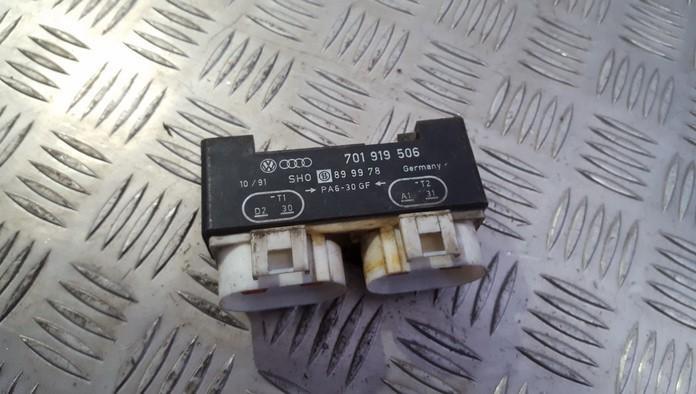 Blower Fan Regulator (Fan Control Switch Relay Module)  701919506 899978 Volkswagen SHARAN 2003 1.9