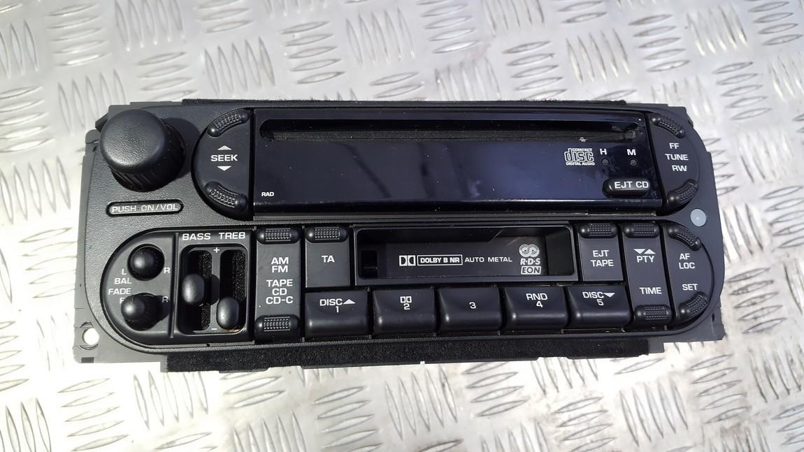 Automagnetola MU9CY95H P05064385AF, TCAAA1623J1864 Chrysler VOYAGER 2001 2.5