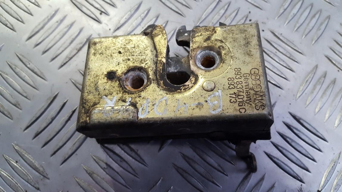 Door Lock Mechanism - front right side 893837016C 893173 Audi 80 1988 1.6