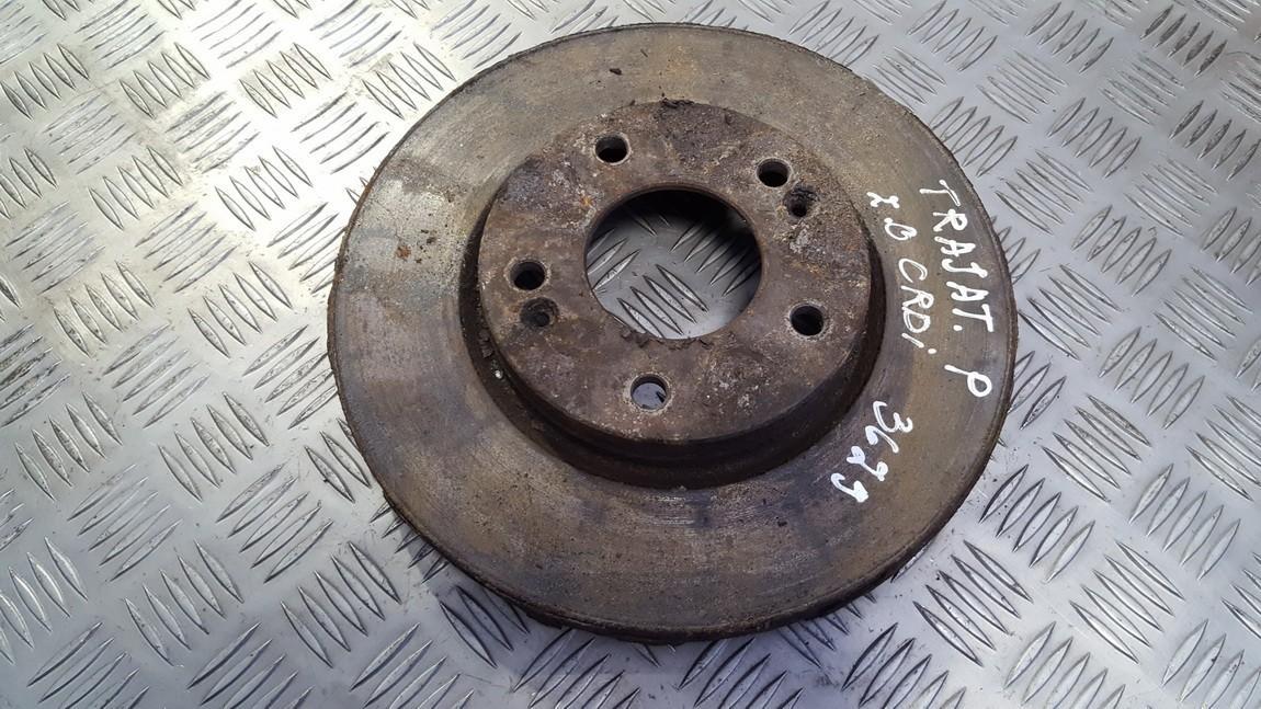 Priekinis stabdziu diskas used used Hyundai TRAJET 2002 2.0