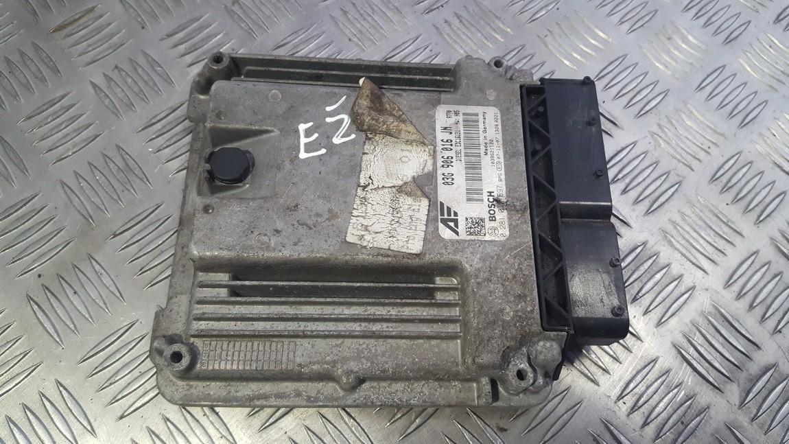 Variklio kompiuteris 0281012697 03G906016JN Volkswagen SHARAN 2003 1.9
