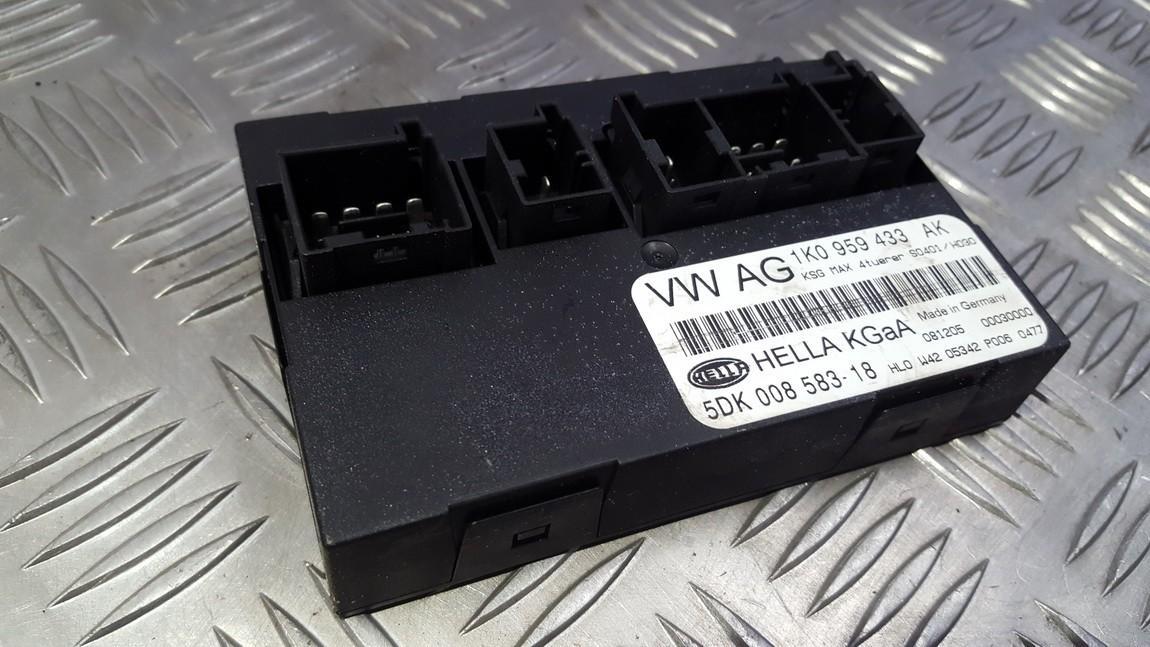 Блок комфорта 1K0959433AK 5DK008583-18, 5DK00858318 Volkswagen GOLF 1992 1.4