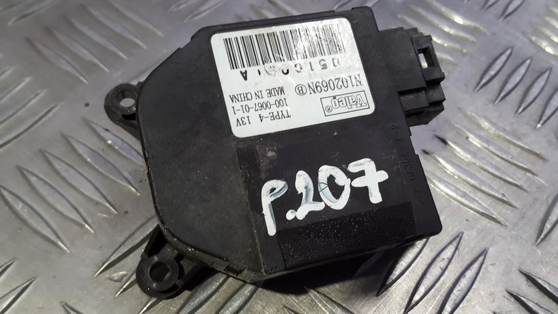 Peciuko sklendes varikliukas 102069N 100-0067-01-1, 1000067011 Peugeot 207 2009 1.4