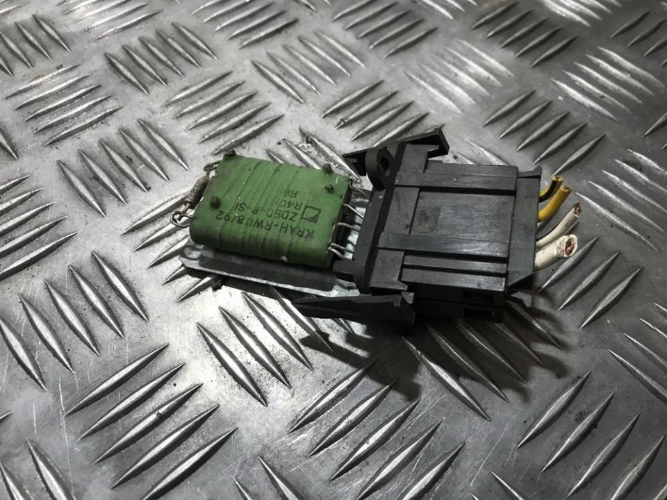 Volkswagen  Golf Peciuko reostatas (ezys) (ventiliatoriaus rele)