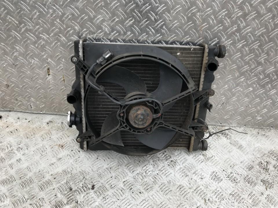 Vandens radiatorius (ausinimo radiatorius) used used Honda CIVIC 2002 1.4